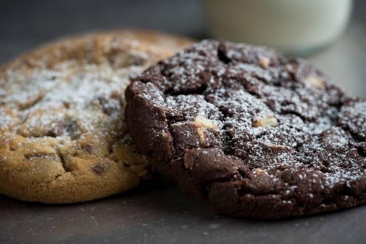 Les cookies crus vegan